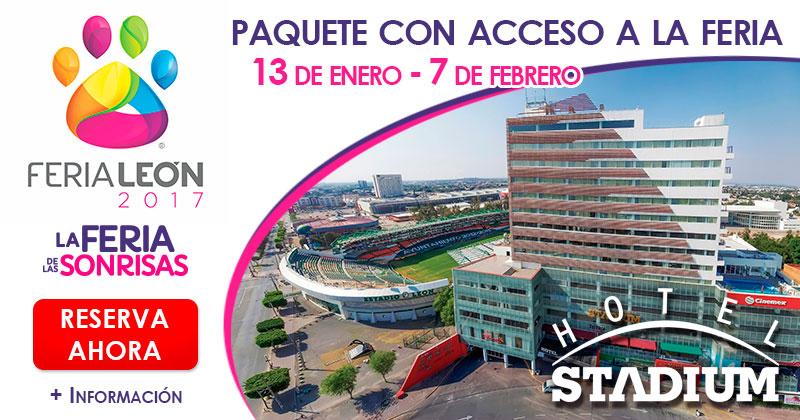 Feria León 2017 | Hotel Stadium
